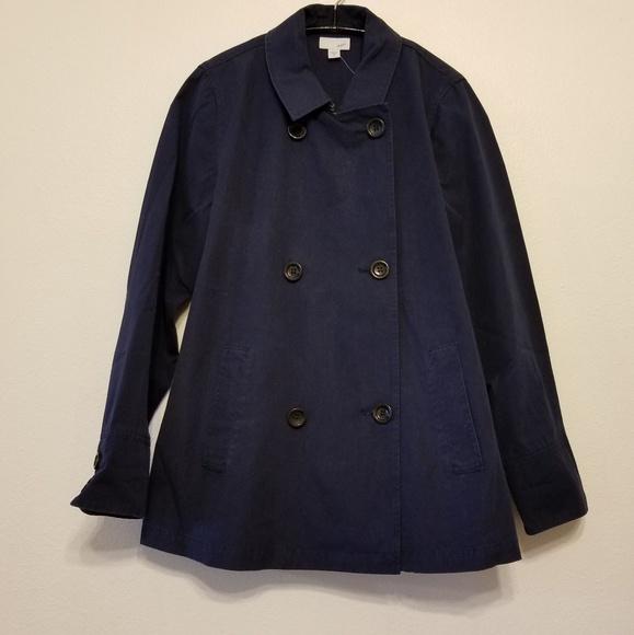 Clothing, Shoes & Accessories J Jill Women Medium Button Front Blazer Jacket Coat Brown 100% Cotton Fall